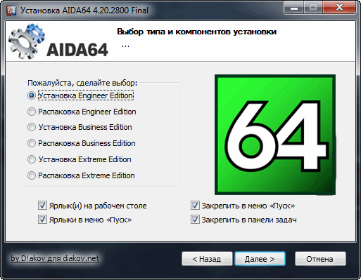 AIDA64 Extreme | Engineer | Business Edition 4.20.2800 Final