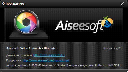 Aiseesoft Video Converter Ultimate 7.2.28