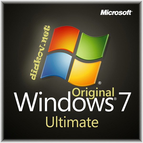 Windows 7 Ultimate SP1 Original by Diakov update May2015