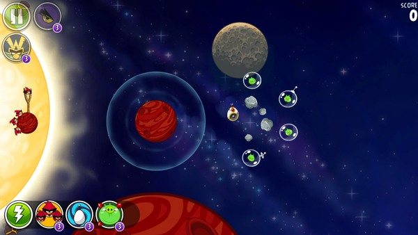Angry Birds Space Premium 2.2.1 + HD