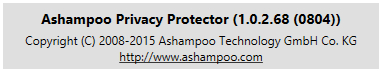 Ashampoo Privacy Protector 1.0.2.68 Final