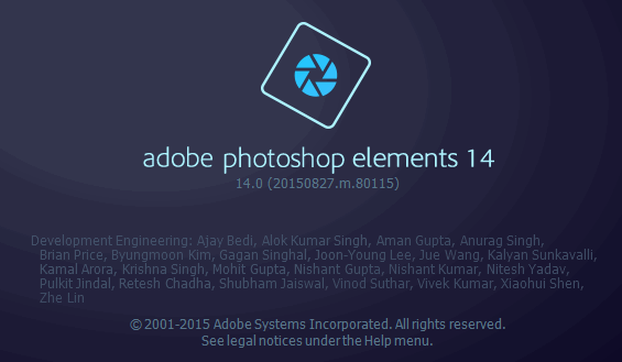 Adobe Photoshop Elements 14.0