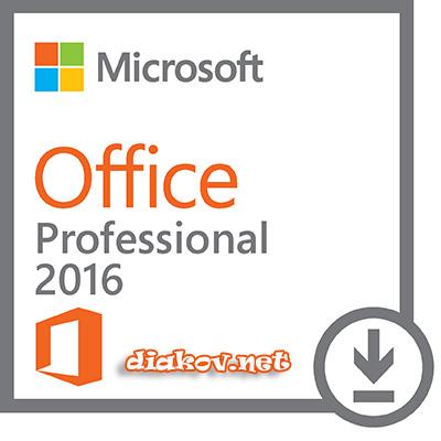 Microsoft Office 2016 Professional Plus 16.0.4312.1000