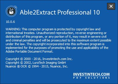 Able2Extract Professional 10.0.6.0