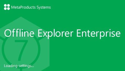 MetaProducts Offline Explorer Enterprise 7.3.0.4552 SR2