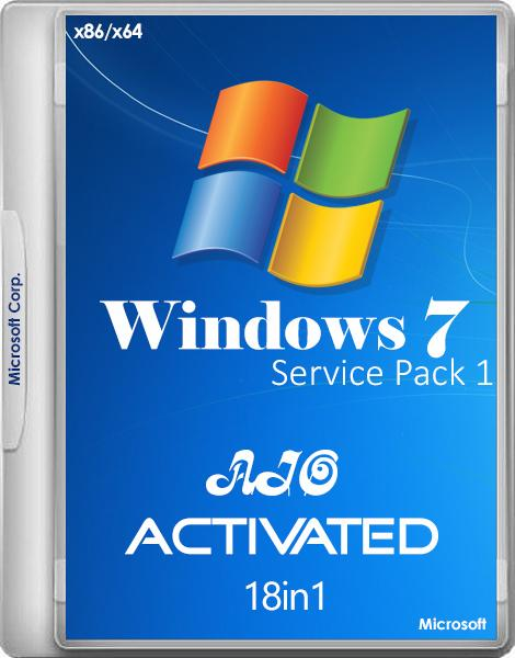 Windows 7 SP1 -18in1- Activated v.5 by m0nkrus