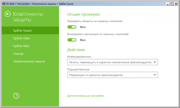 Dr.Web Security Space & Anti-Virus 11.0.3.12051