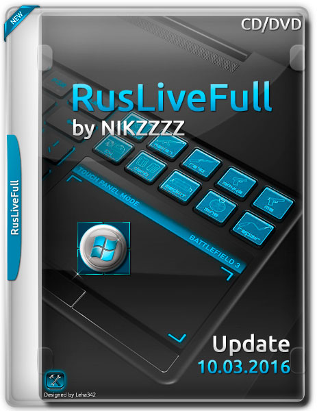 RusLiveFull by NIKZZZZ CD/DVD 10.03.2016