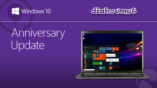 Microsoft Windows 10.0.14393 Version 1607 RTM Anniversary Update