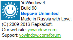 YoWindow Unlimited Edition 4 Build 98 Final